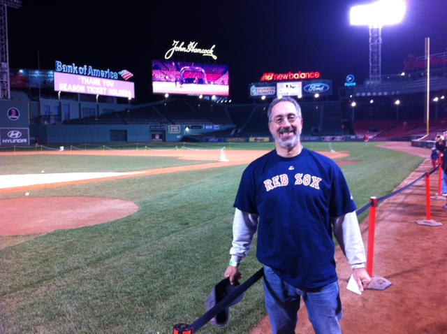 Al at Fenway
